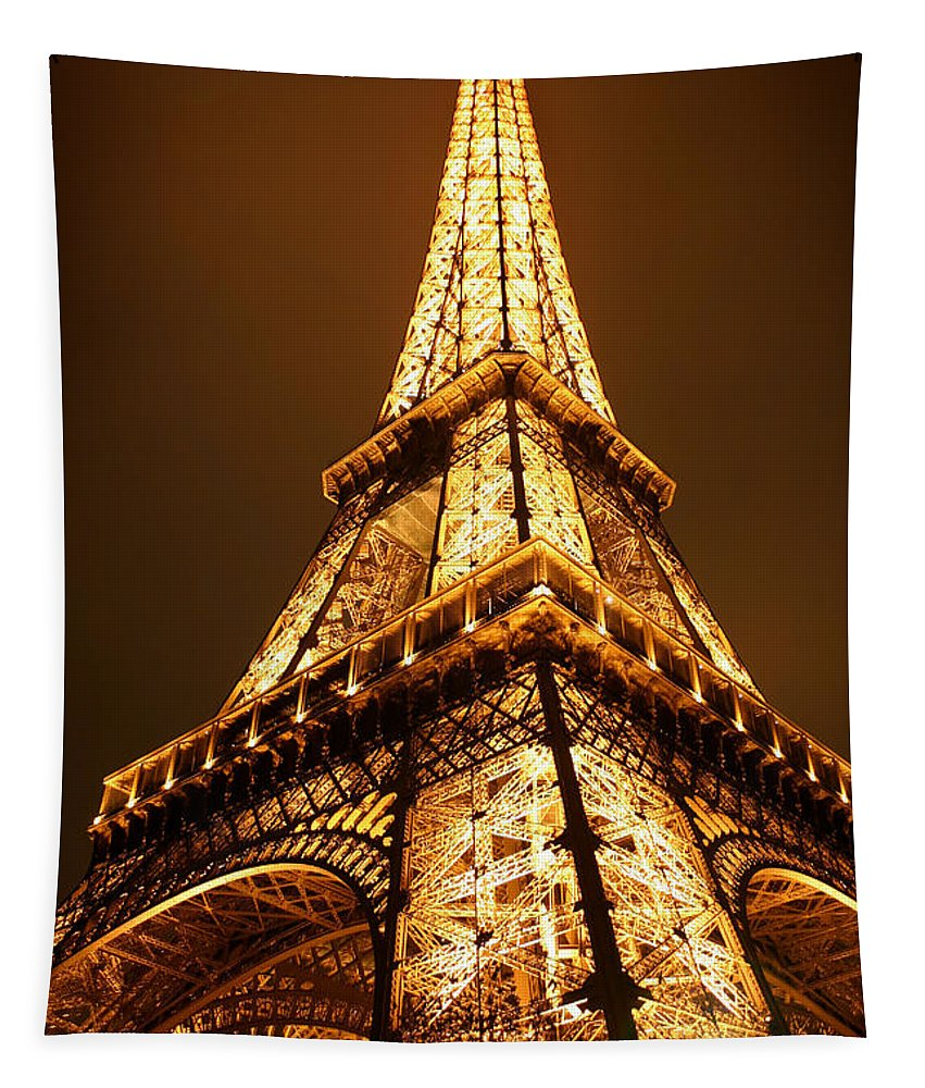 Eiffel Tapestry featuring the photograph Eiffel by Skip Hunt