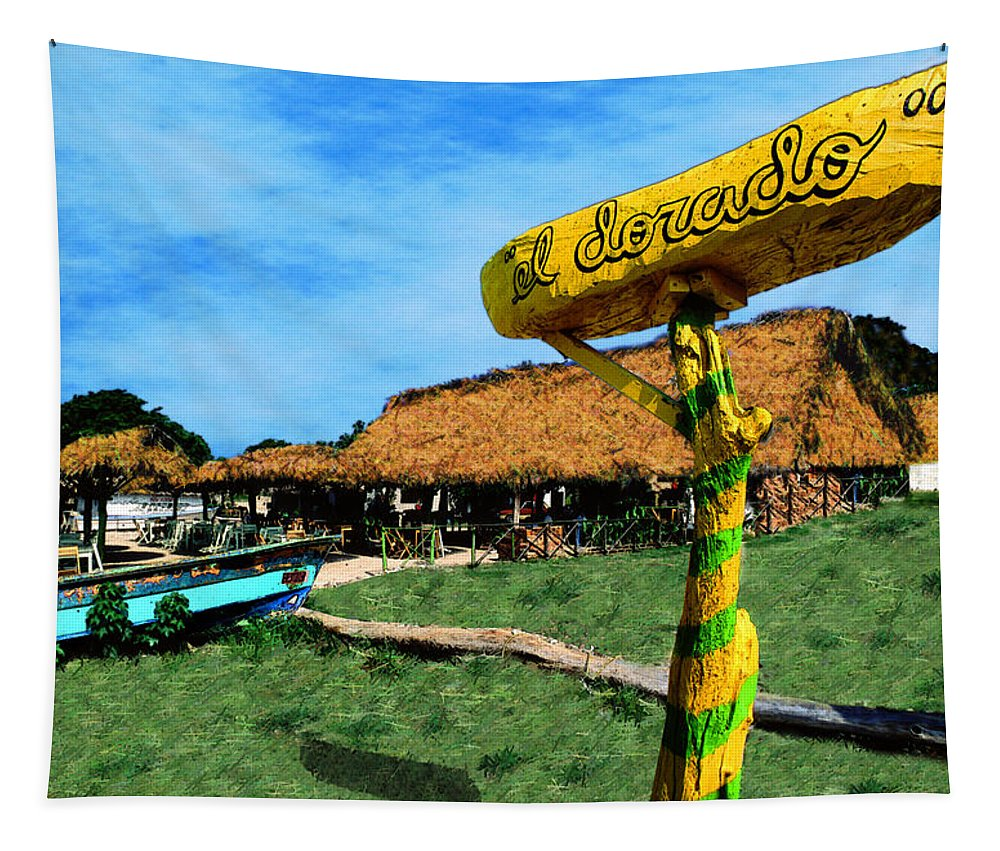 Photography Tapestry featuring the photograph El Dorado by Paul Wear
