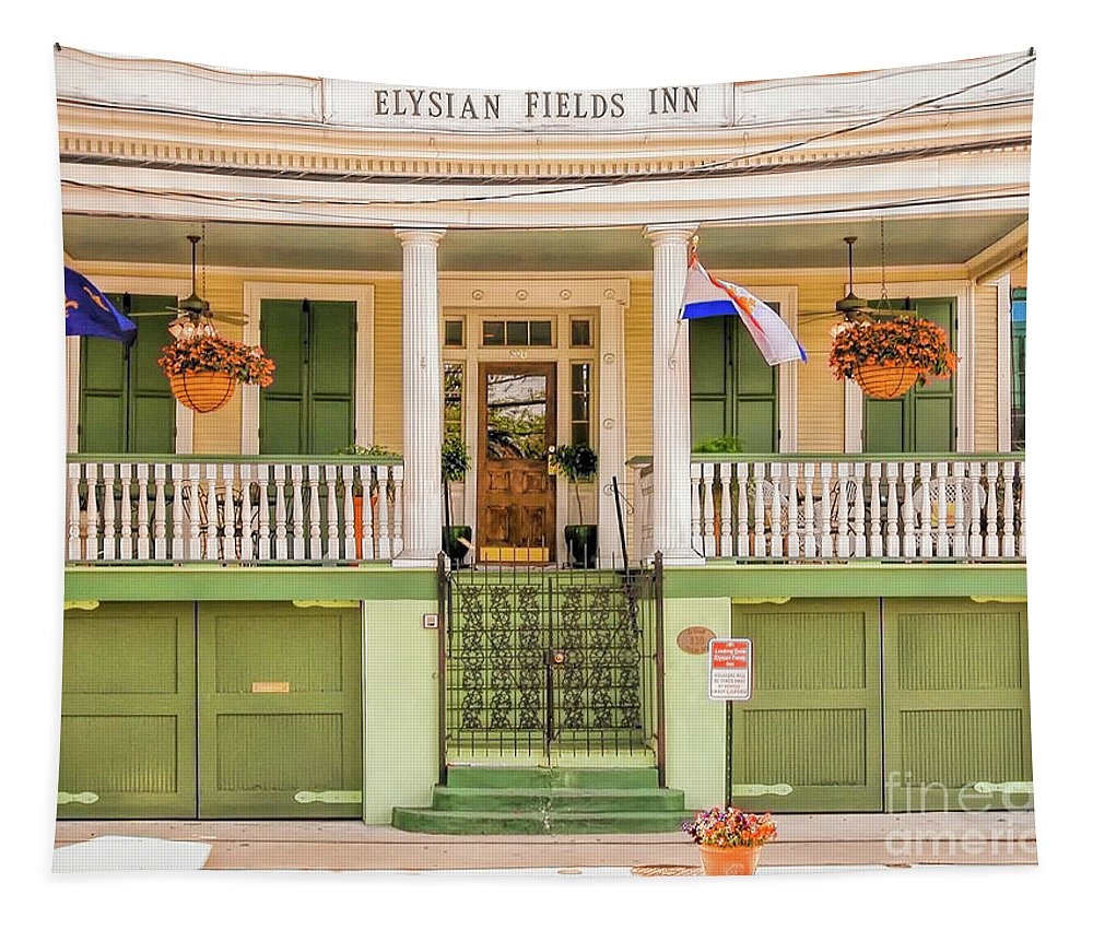 Elysian Tapestry featuring the photograph Elysian Fields Inn - Nola by Kathleen K Parker