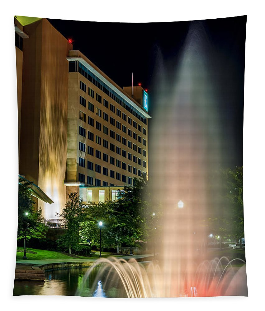 Embassy Suites Tapestry featuring the photograph Embassy Suites Huntsville by David Morefield