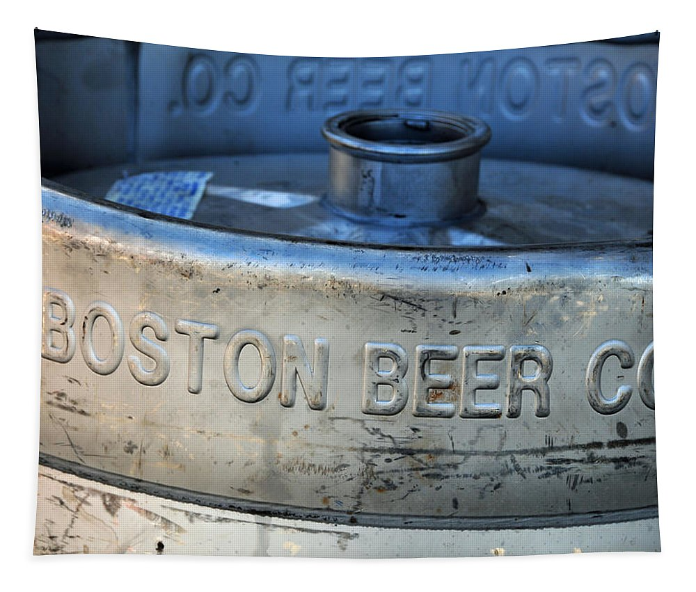 Keg Tapestry featuring the photograph Empty Keg by Mike Martin