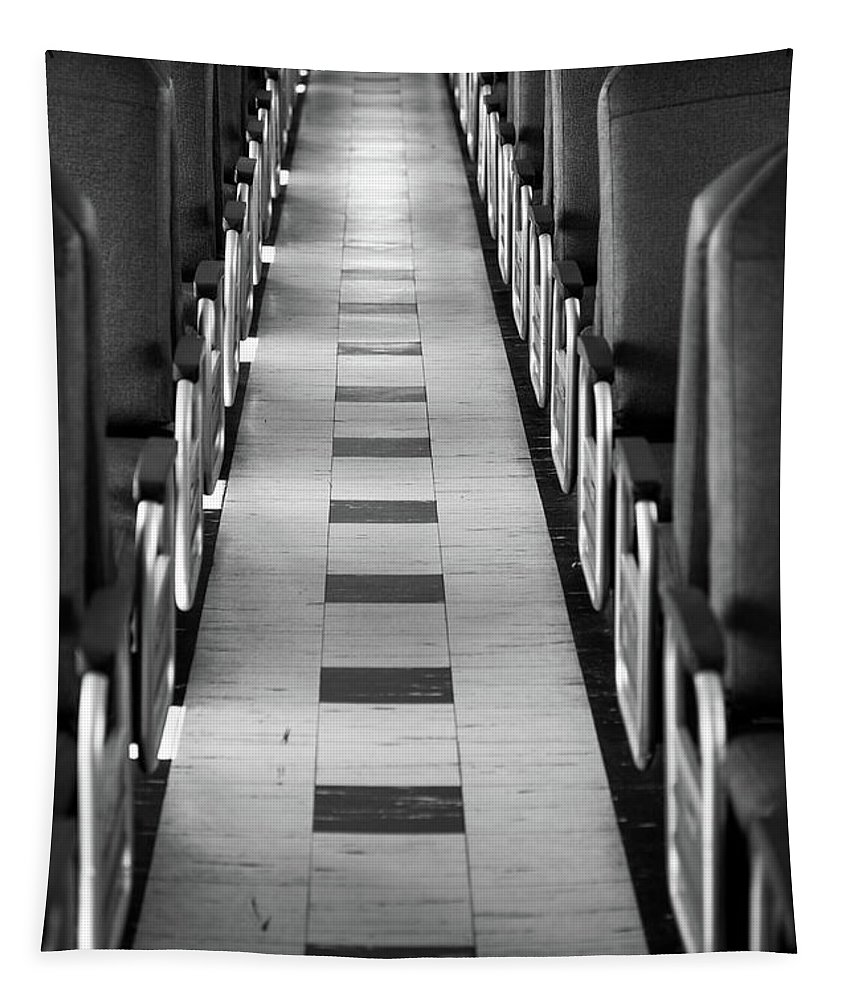 Endless Aisle Tapestry featuring the photograph Endless Aisle by Karol Livote