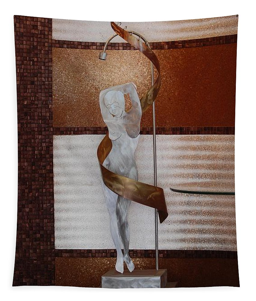 Statue Tapestry featuring the photograph Erotic Museum Piece by Rob Hans