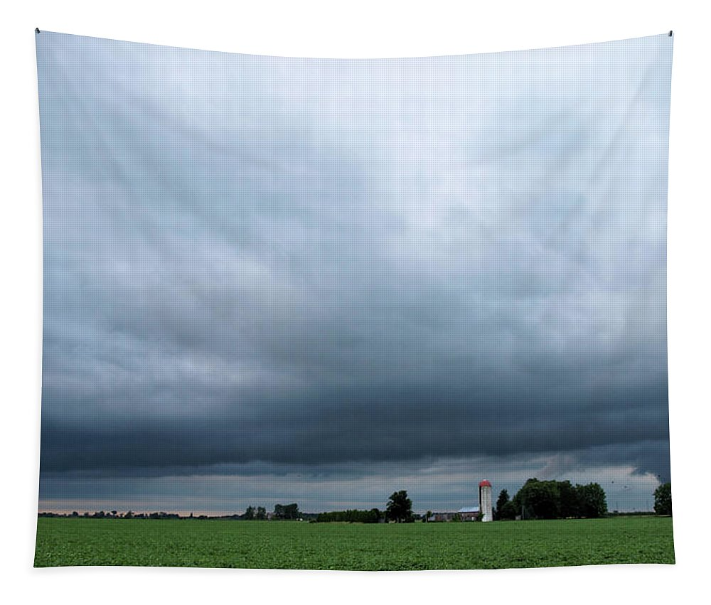 Essex Tapestry featuring the photograph Essex County Farmland by Barry King