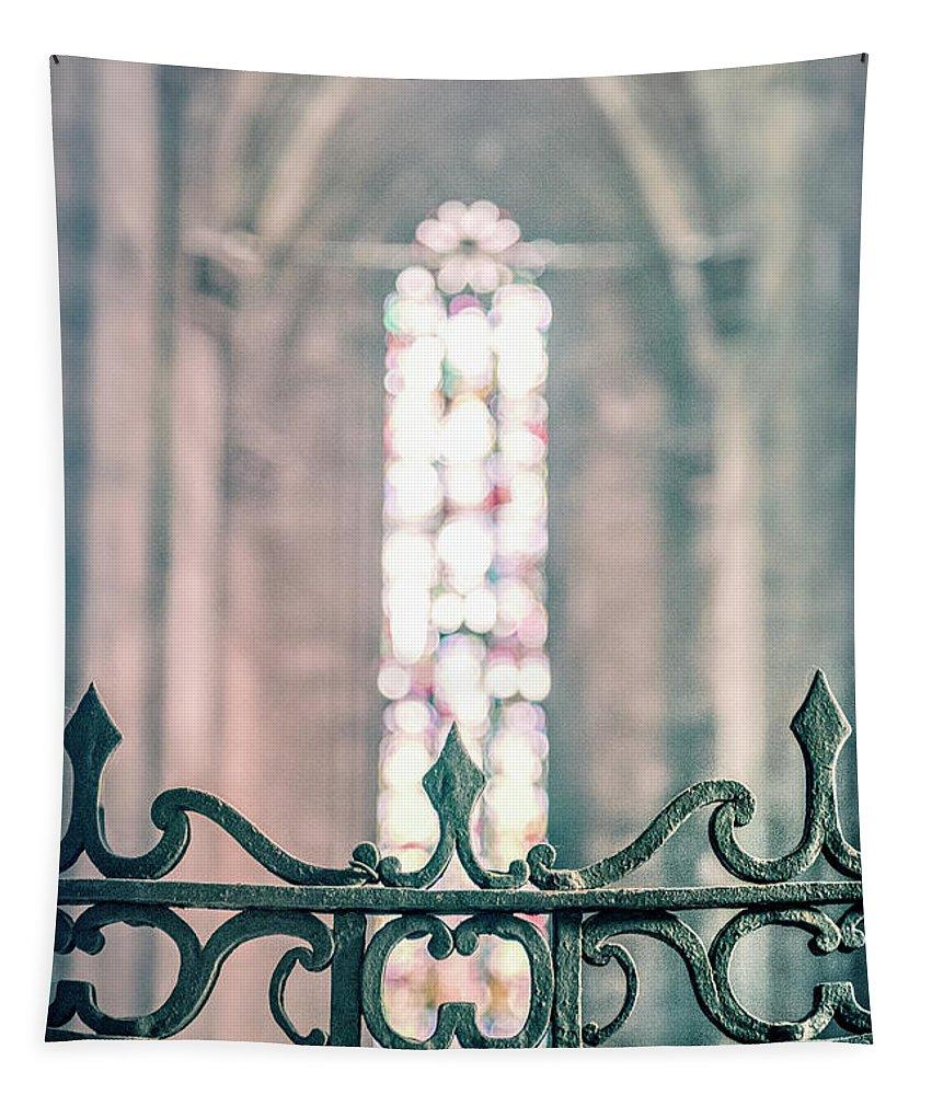Kremsdorf Tapestry featuring the photograph Eternal Light by Evelina Kremsdorf