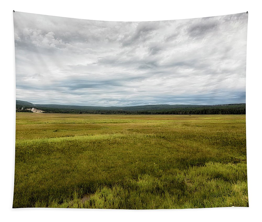 Yellowstone Tapestry featuring the photograph Eternal Yellowstone by Belinda Greb