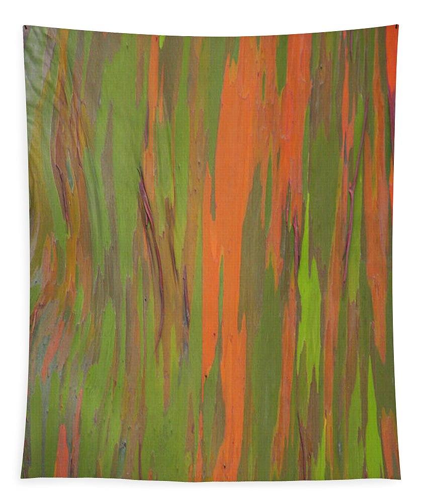 Abstract Tapestry featuring the photograph Eucalyptus Abstract by Patti Deters
