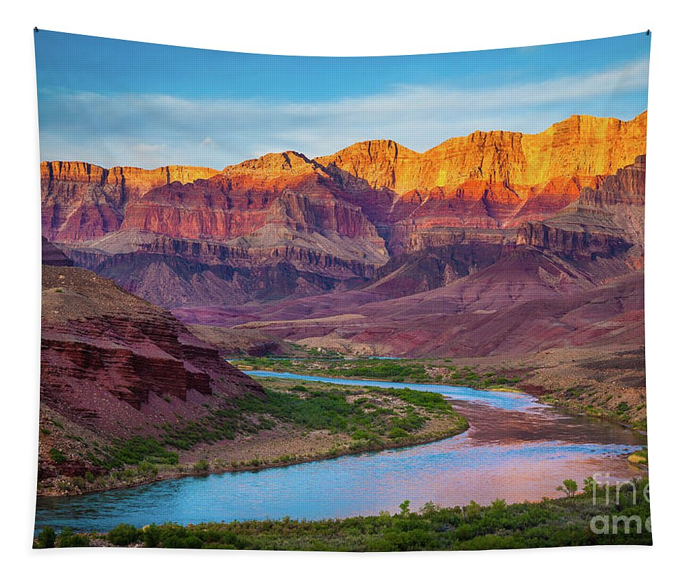 America Tapestry featuring the photograph Evening At Cardenas by Inge Johnsson