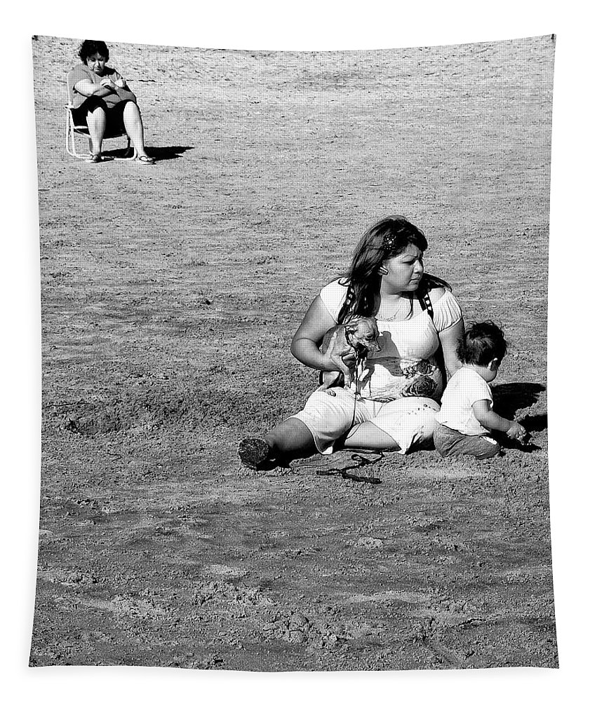 Mother Tapestry featuring the photograph Excavation by Dominic Piperata