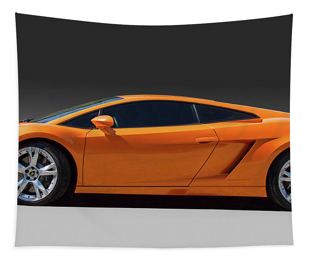 Lamborghini Photograph Tapestry featuring the photograph Exotic Lamborghini by Nick Gray