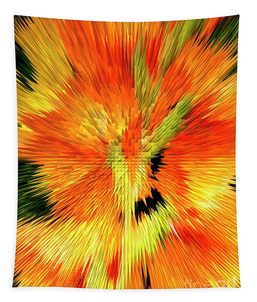 Special Effect Tapestry featuring the photograph Extruded 947 by Paul W Faust - Impressions of Light