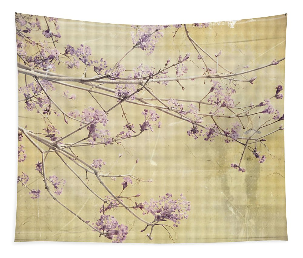 Blossoms Tapestry featuring the photograph Fading by Tara Turner