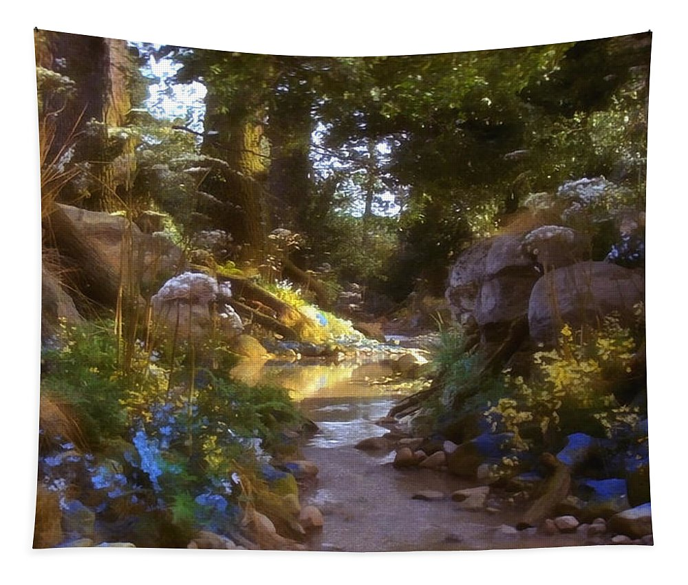 Fairy Forest Tapestry featuring the photograph Fairy Forest by Sergey Lukashin