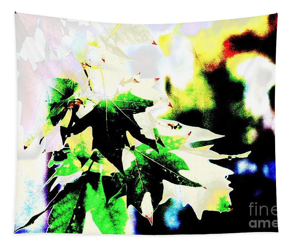 Leaf Tapestry featuring the photograph Fall Overture by Jenny Revitz Soper