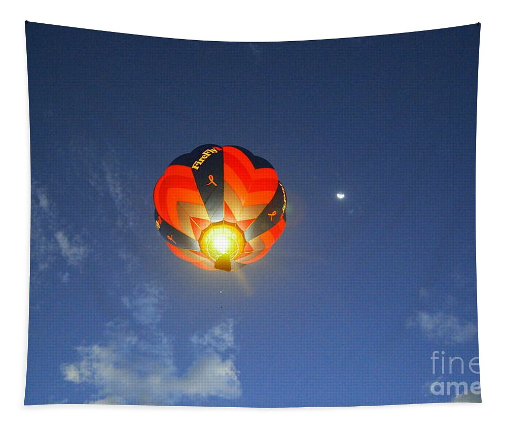 Flames Tapestry featuring the photograph Firing It Up Overhead by Jeff Swan
