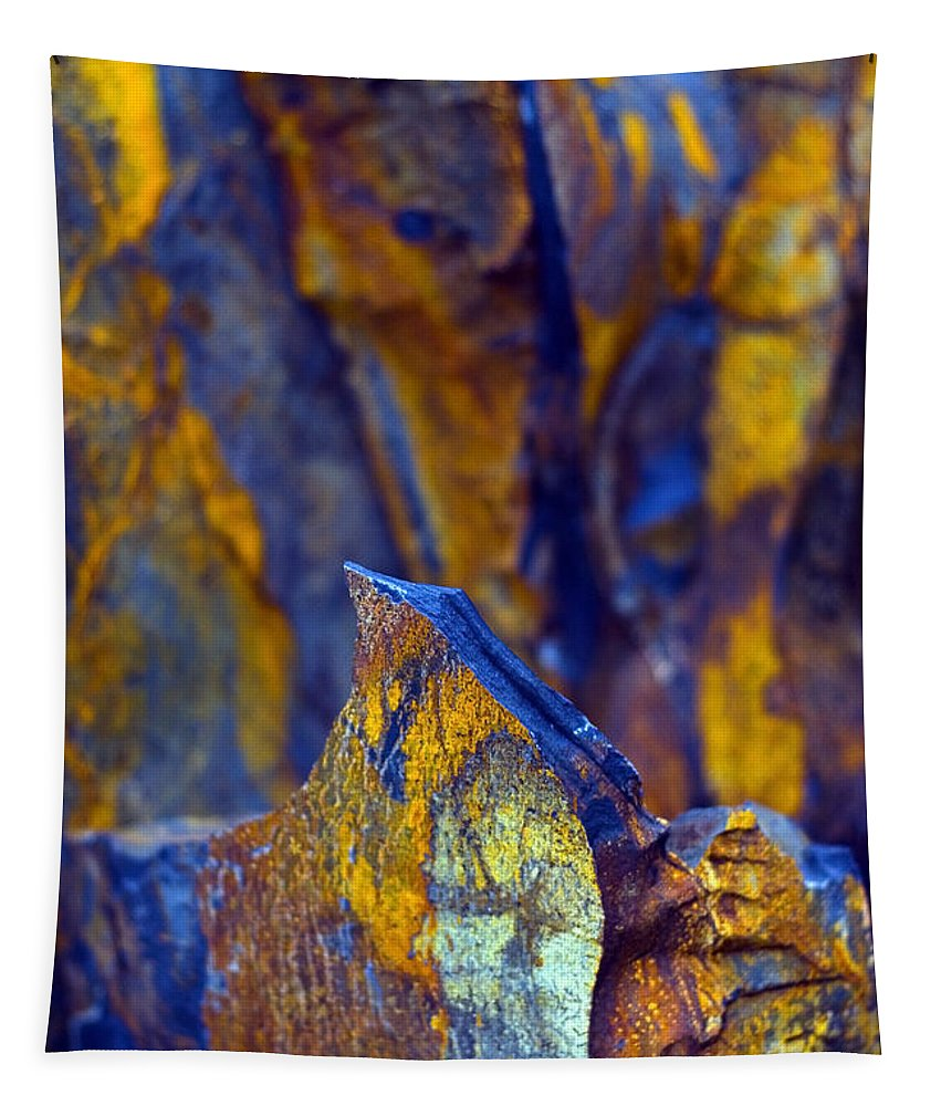 Texture Tapestry featuring the photograph First Cut Is The Deepest by Skip Hunt