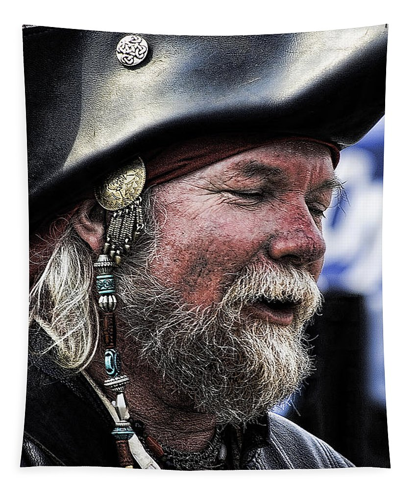 Pirates Tapestry featuring the photograph First Mate by David Patterson