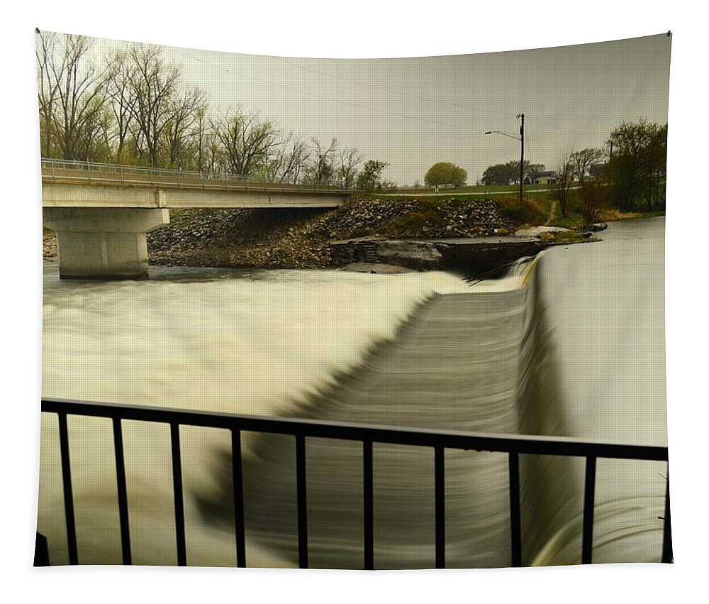 Water Tapestry featuring the photograph Flowing Waters by Bonfire Photography