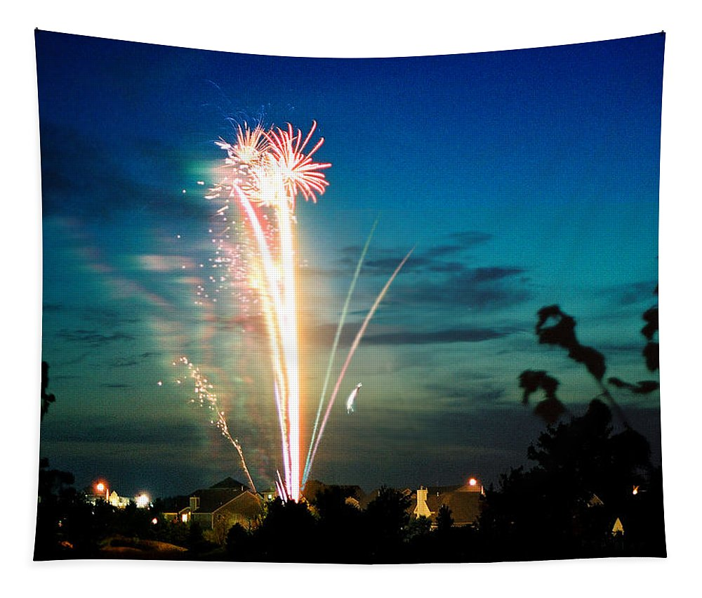 Landscape Tapestry featuring the photograph Fourth Of July by Steve Karol