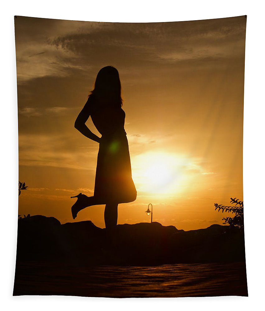 Woman Tapestry featuring the photograph Fresh Start by Rachel Morrison