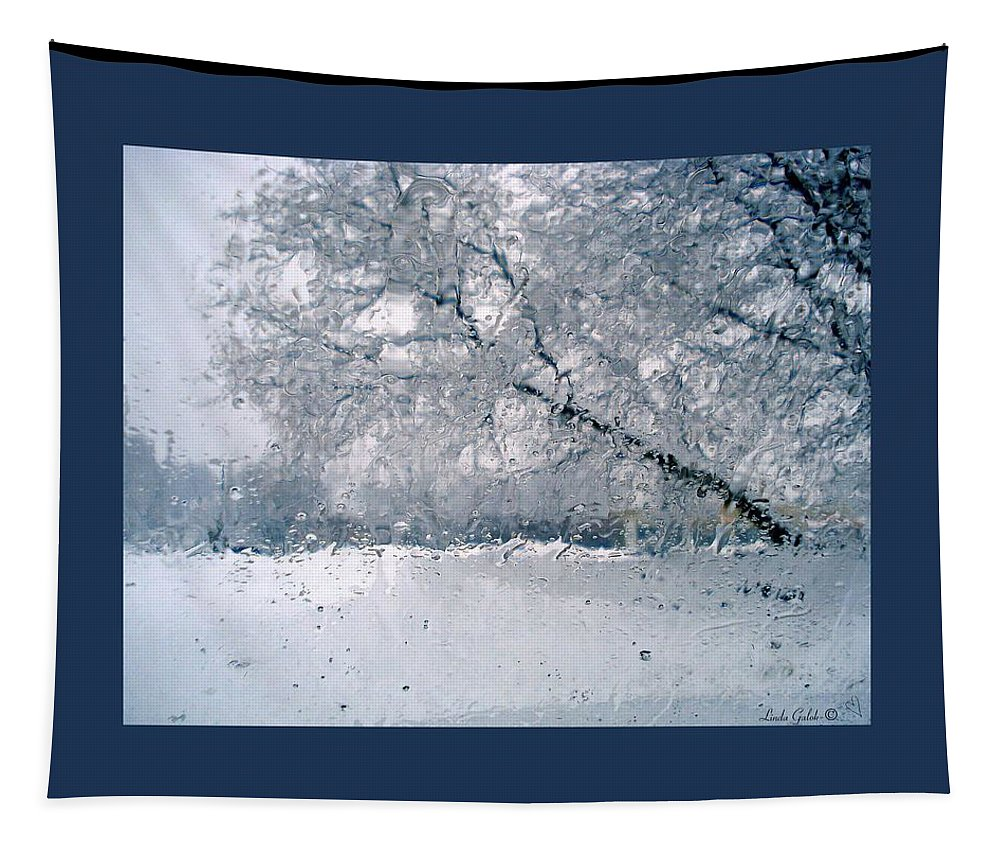 Berkshires Tapestry featuring the photograph Frosty Daze by Linda Galok