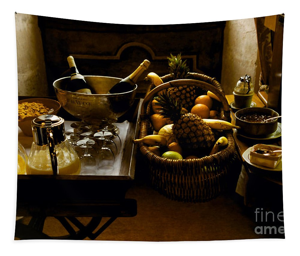 Fruits Tapestry featuring the photograph Fruits Of France by Madeline Ellis