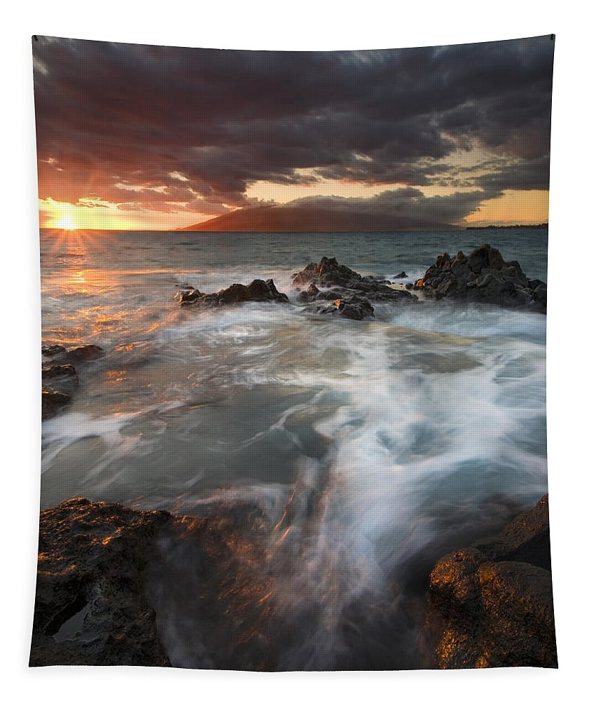 Cauldron Tapestry featuring the photograph Full to the Brim by Mike Dawson
