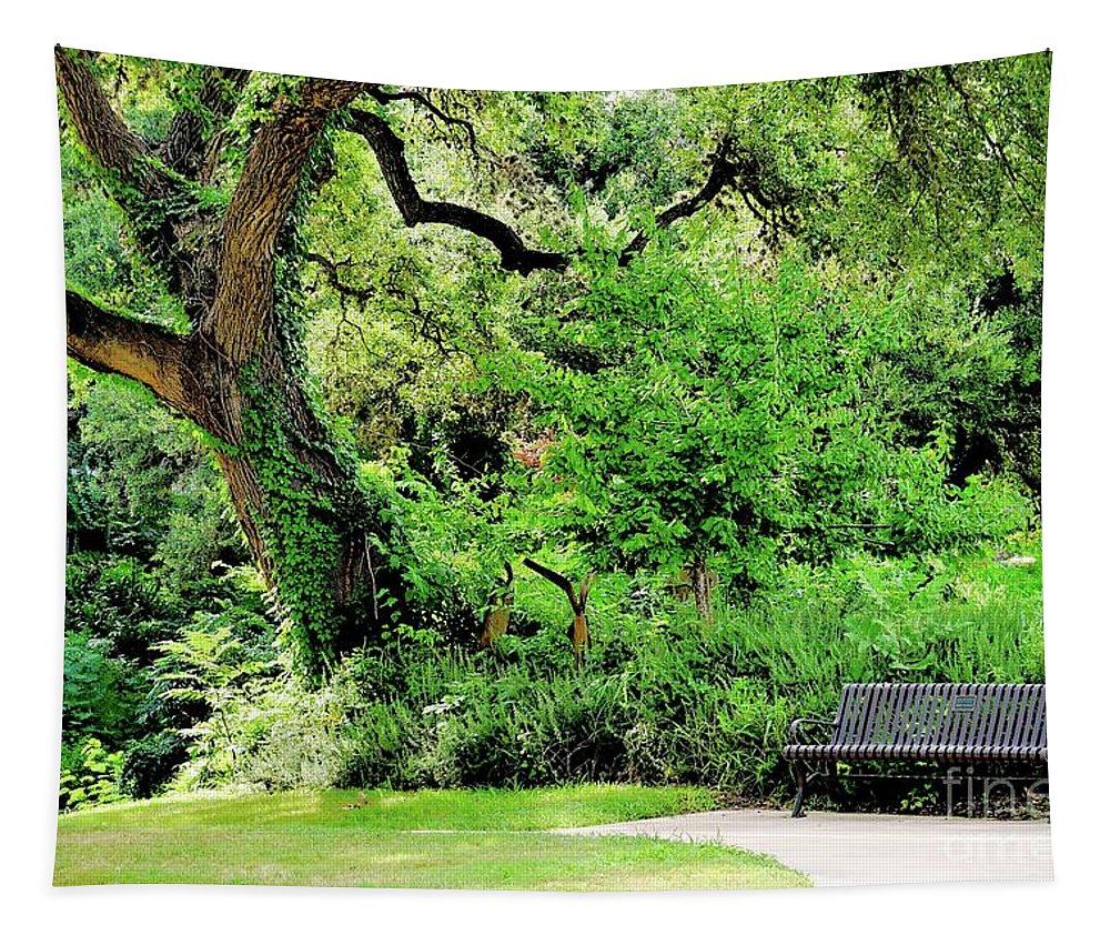 Garden Tapestry featuring the photograph Garden Gift by Gary Richards