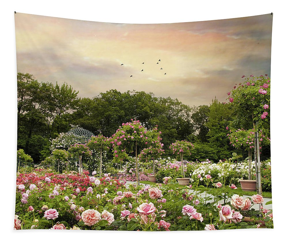 Pergola Tapestry featuring the photograph Garden Grace by Jessica Jenney