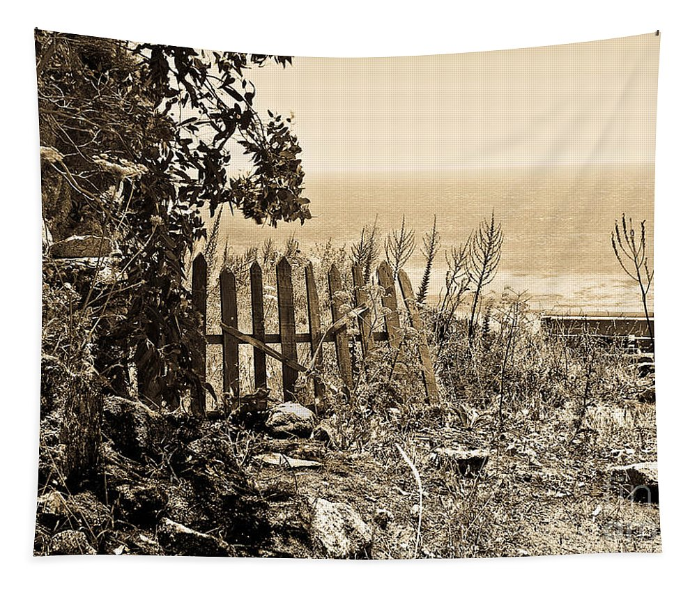 Mediterranean Sea Tapestry featuring the photograph Gateway To The Mediterranean by Madeline Ellis