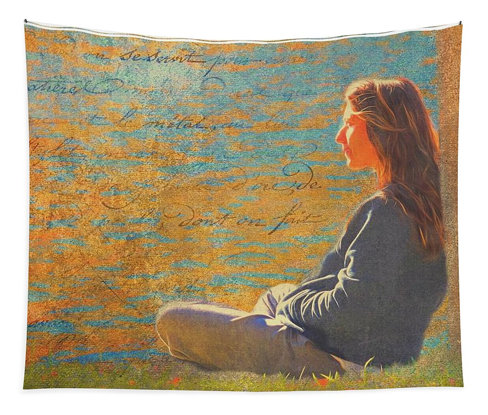 Lady Tapestry featuring the photograph Gentle Sunshine by Alice Gipson