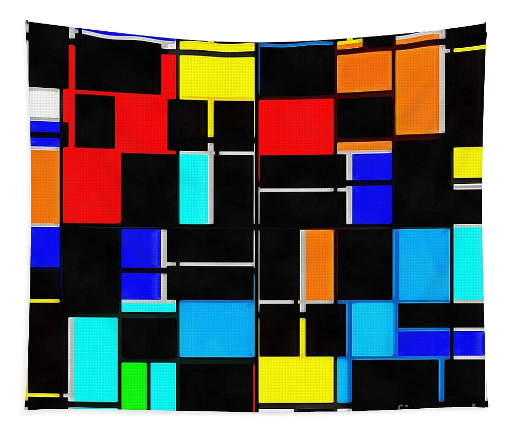 Modern Tapestry featuring the photograph Geometry by Edward Fielding