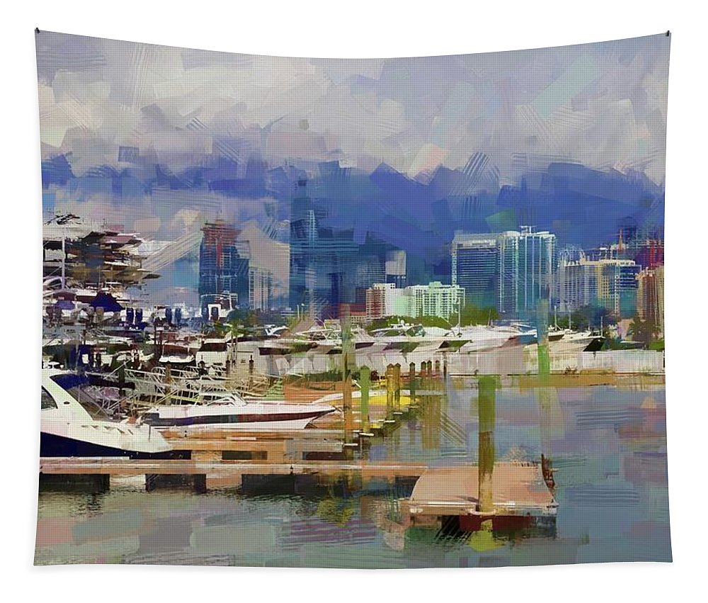 Alicegipsonphotographs Tapestry featuring the photograph Get The Boat by Alice Gipson
