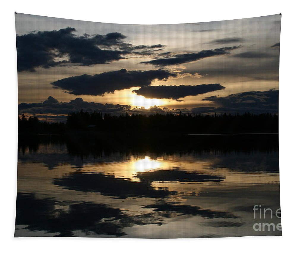 Chena Lakes Tapestry featuring the photograph Gifts Of The Heart by Sharon Mau