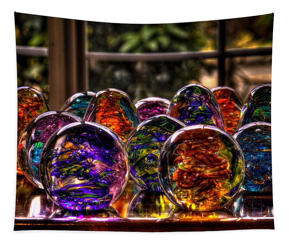 Glass Tapestry featuring the photograph Glass Symphony by David Patterson