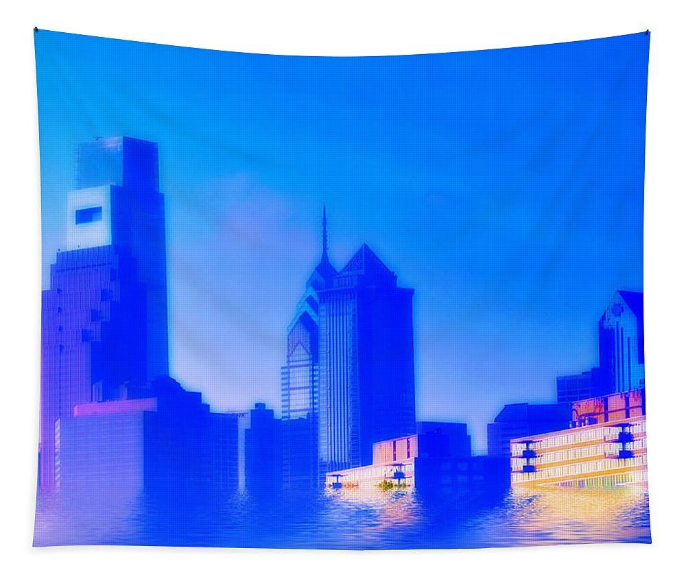 Global Warming Tapestry featuring the photograph Global Warming by Bill Cannon