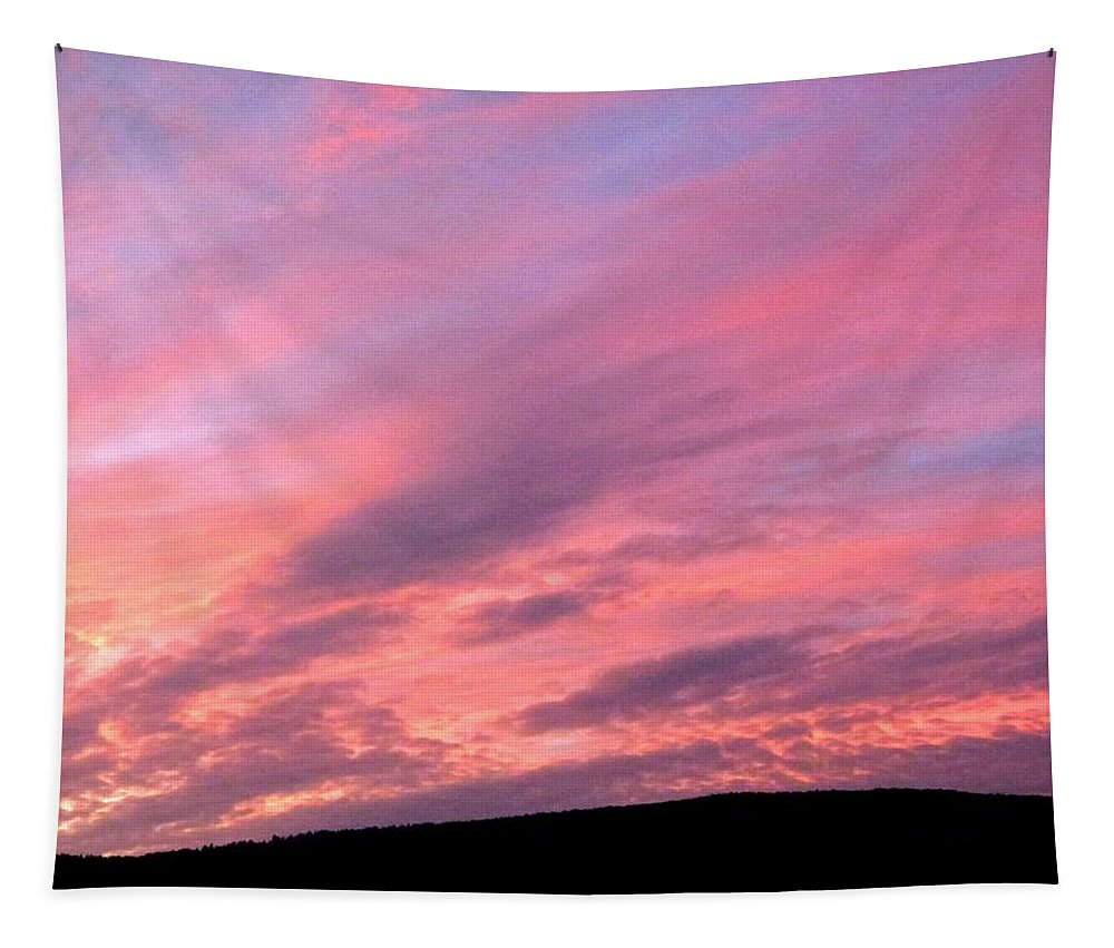 Sunset Tapestry featuring the photograph Glorious Nightfall by Will Borden