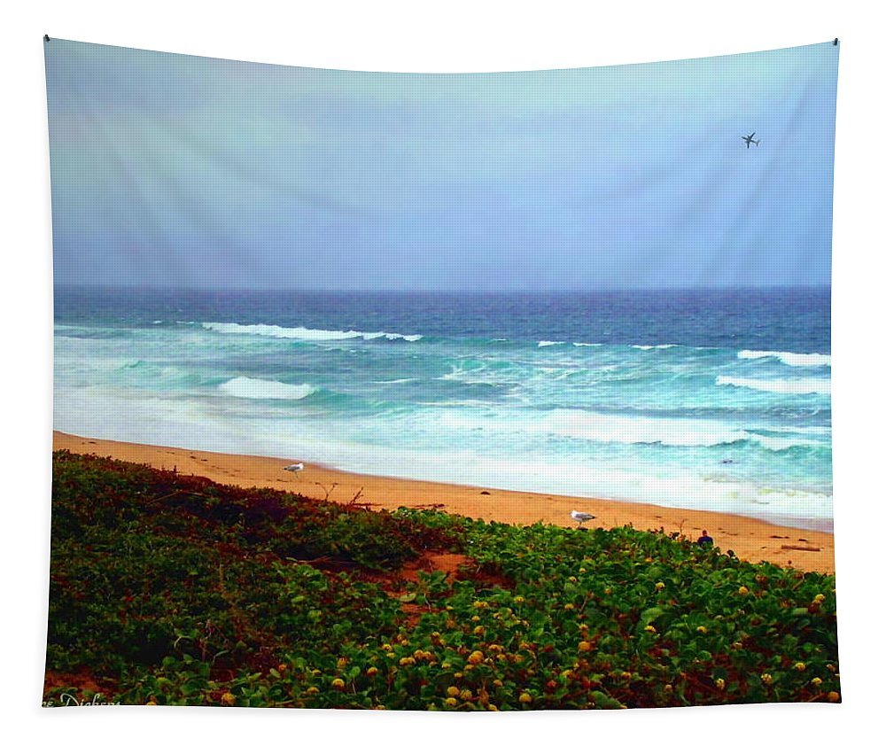 Coast Tapestry featuring the photograph Going Coastal by Joyce Dickens