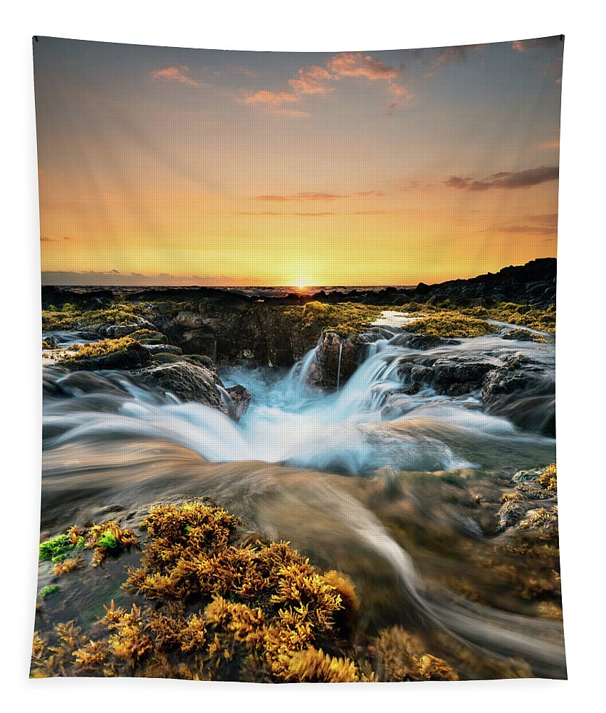 Landscape Tapestry featuring the photograph Golden Hour by Christopher Johnson