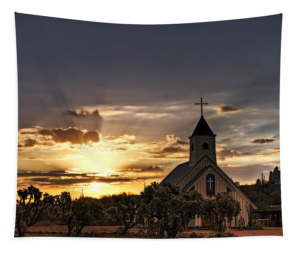 Sunrise Tapestry featuring the photograph Golden Morning Light by Saija Lehtonen