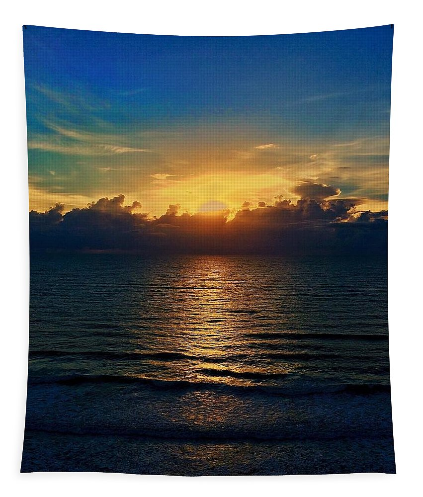 Sunrise Tapestry featuring the photograph Good Day New Day by Paul Wilford