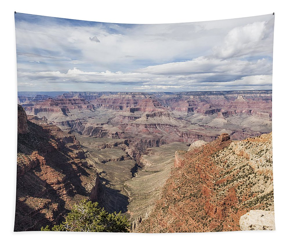 Grand Canyon Tapestry featuring the photograph Grand Canyon No. 6 by Belinda Greb
