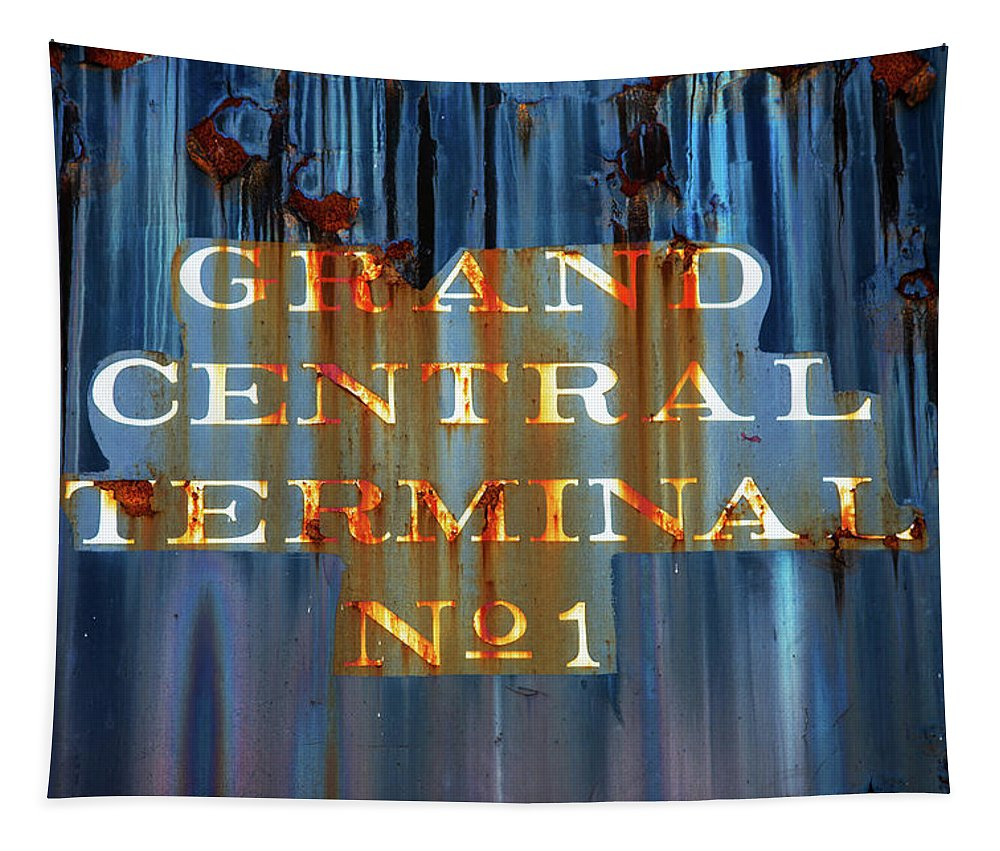 Grand Central Terminal No 1 Tapestry featuring the photograph Grand Central Terminal No 1 by Karol Livote
