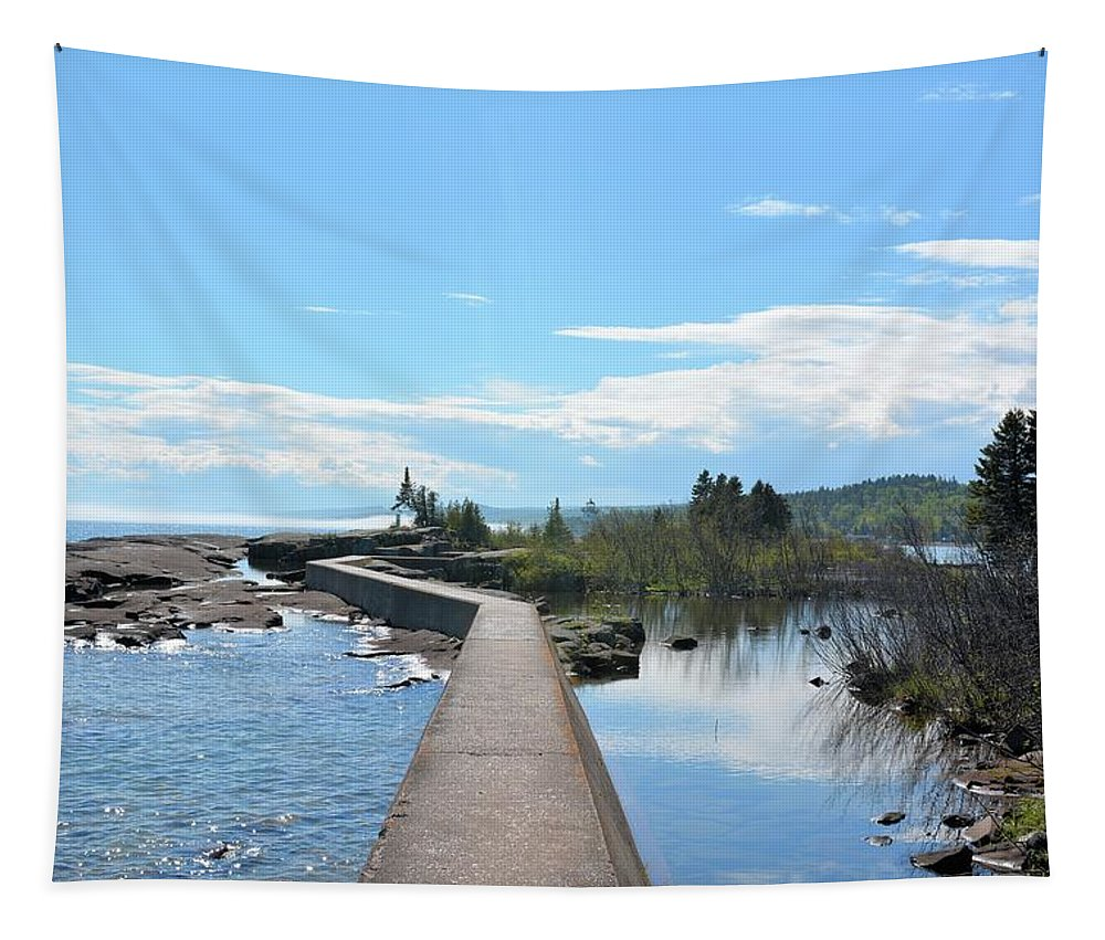 Lake Tapestry featuring the photograph Grand Marais Break by Bonfire Photography