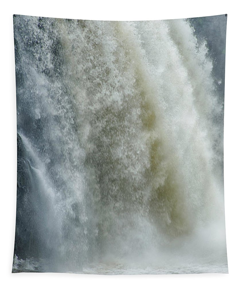 Waterfalls Tapestry featuring the photograph Great Falls Of Paterson Nj by Eleanor Bortnick