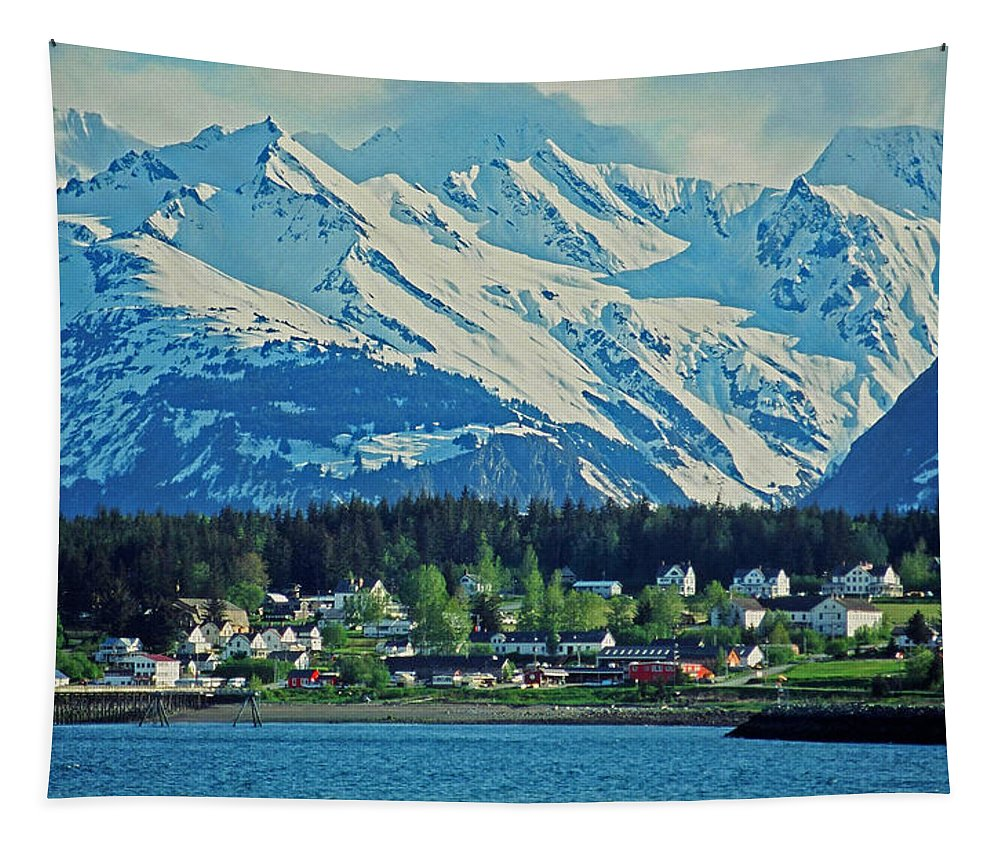 North Tapestry featuring the photograph Haines - Alaska by Juergen Weiss