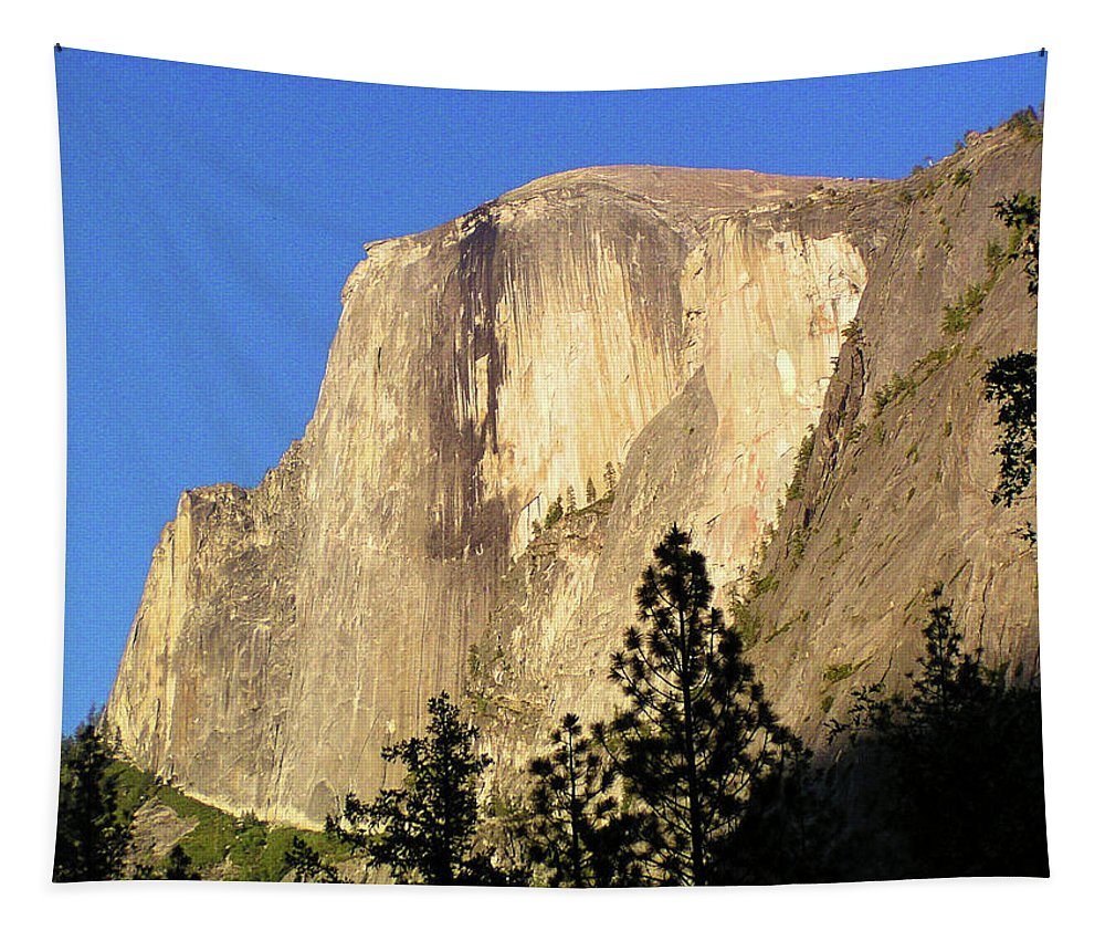 Half Dome Tapestry featuring the photograph Half Dome by Bruce