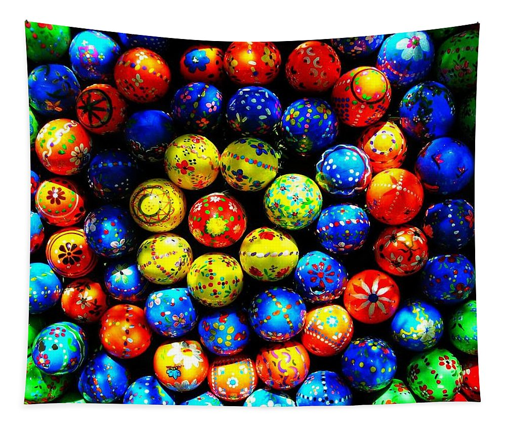 Easter Tapestry featuring the photograph Happy Easter by Juergen Weiss