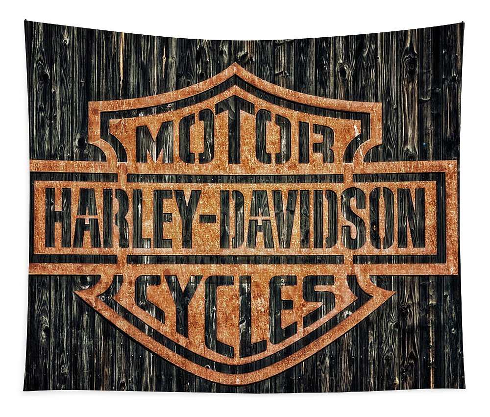 Harley-davidson Tapestry featuring the photograph Harley - Davidson by Tama66