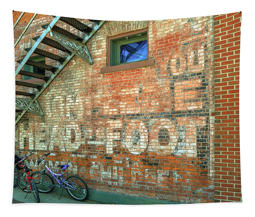 Bicycles Tapestry featuring the photograph Head To Foot by Darin Williams